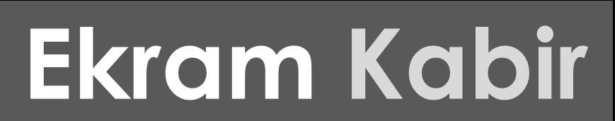 Ekram Kabir